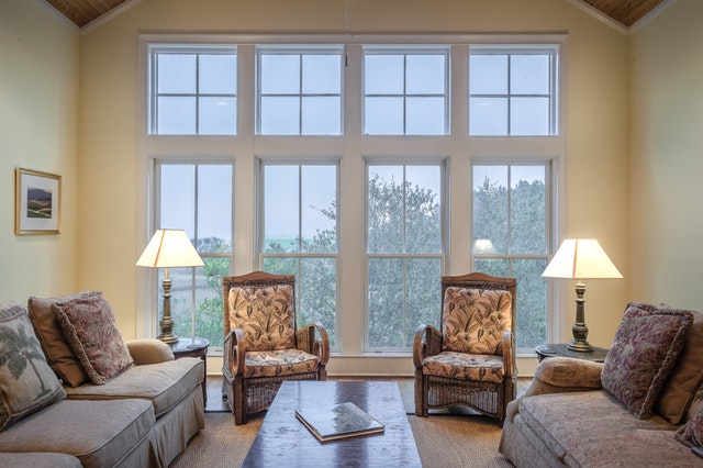 Ash White Living Room Wall Paint Design