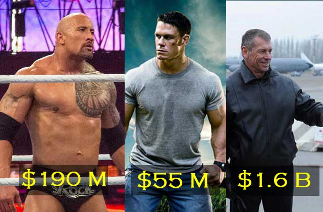 Richest Wrestlers