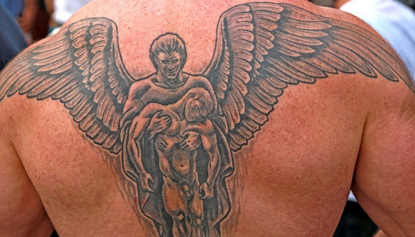 Angel Tattoo Design - Top Tattoo Design Ides for Men
