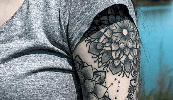 flower Tattoo Design - Top Tattoo Design Ides for Men