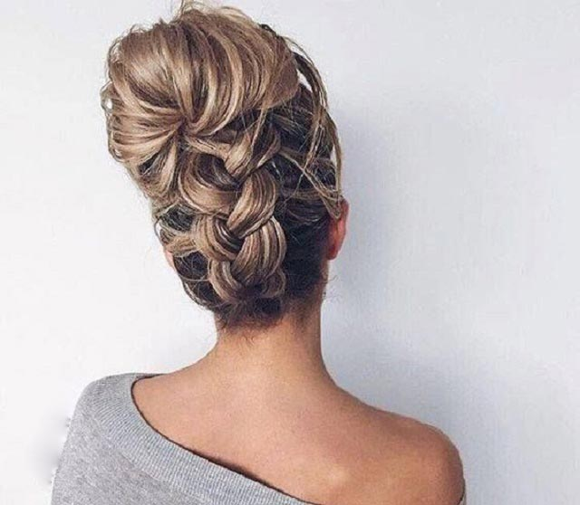 Big Braided Updo