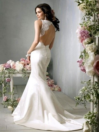 Trumpet-Style Classic Gown