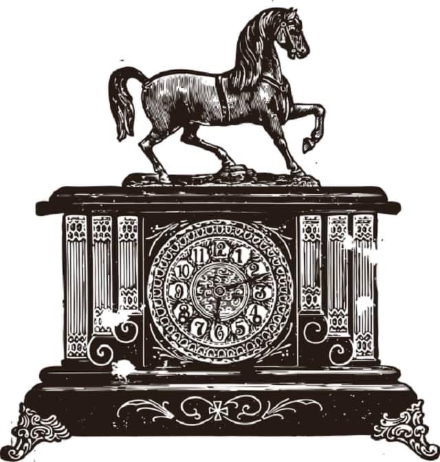 Modern Mantel Clock