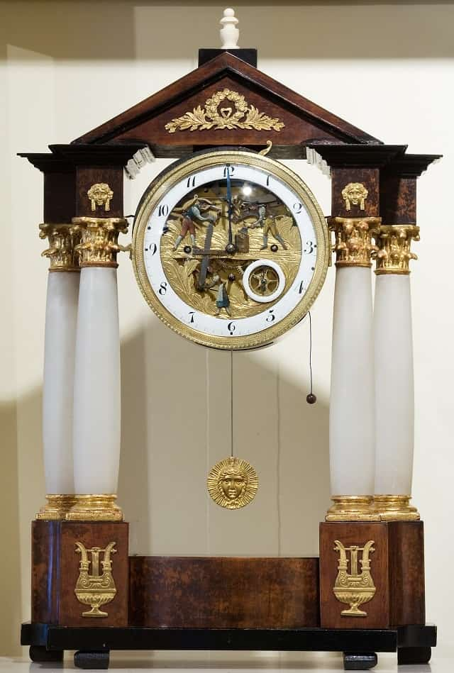 Unique Mantel Clock