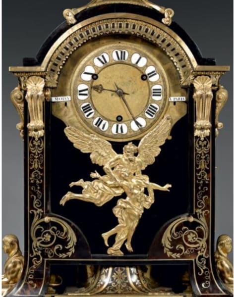 WoodMantel Clock