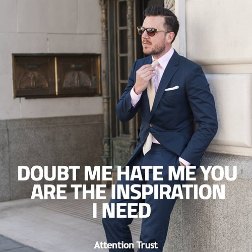 Doubt me Hate Me