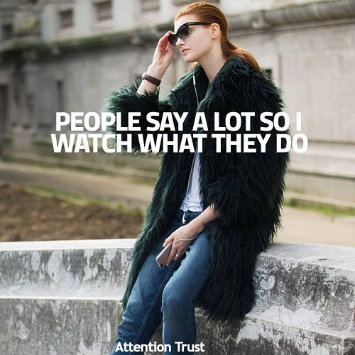 People Say Alot