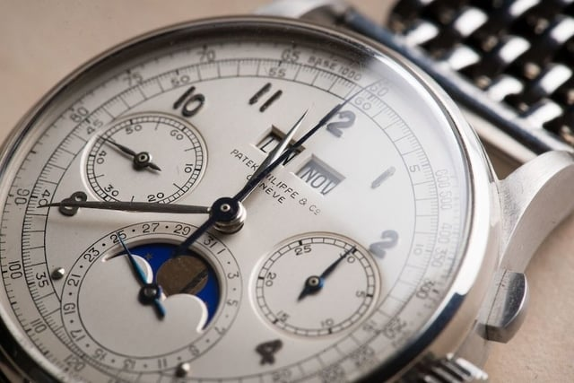 Patek Philippe Ref. 1518 - most expensive watches