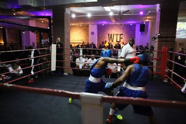 Work Train Fight - Gym in New York City