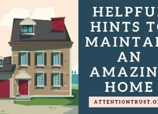 maintain amazing home