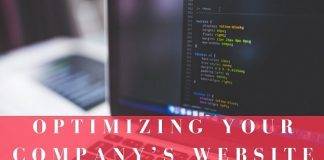 Optimizing Your Company's Website