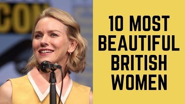 Beautiful British Women
