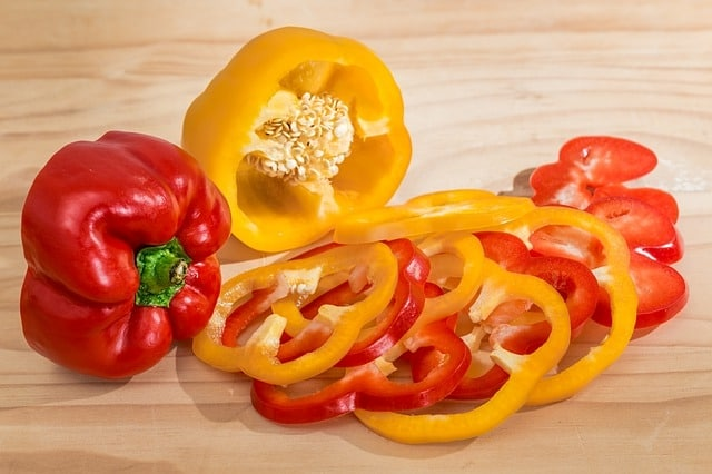 Bell pepper - foods cause gerd