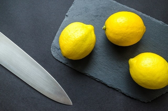 Lemons - foods cause acid reflux