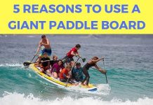 Giant Paddle Board