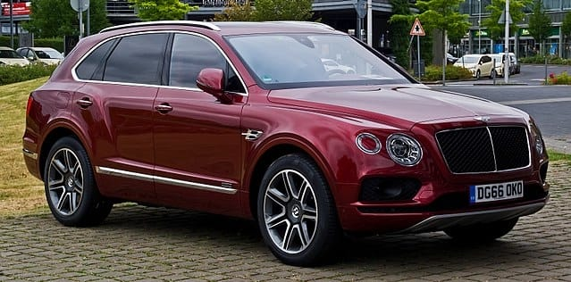Bentley Bentayga - Luxury Cars List