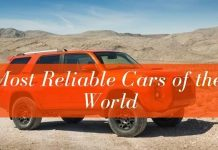 Reliable Cars