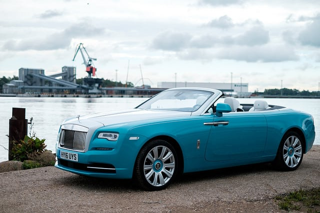 Rolls-Royce Dawn - Luxury Cars List