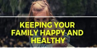 Family Happy and Healthy