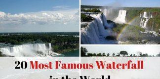Famous Waterfall