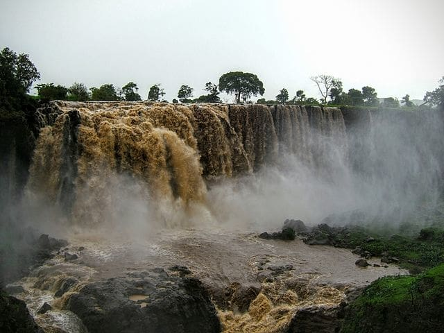 Blue Nile Falls - most powerful waterfall