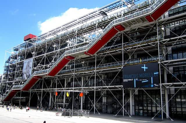 Centre Pompidou - famous places in paris