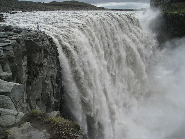 Dettifoss - most powerful waterfall