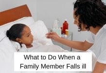Family Member Falls Ill