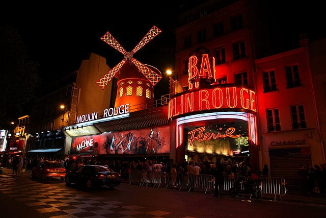 Moulin Rouge - relaxing things to do in paris
