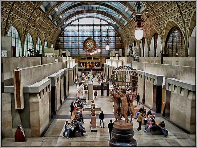 Musee d'Orsay - places to visit in paris at night