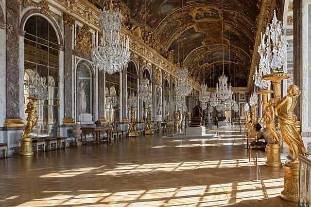 Palace of Versailles - famous places in paris