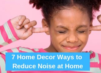 Reduce Noise at Home