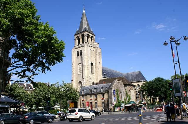 Saint Germain Des Pres - places to visit in paris at night
