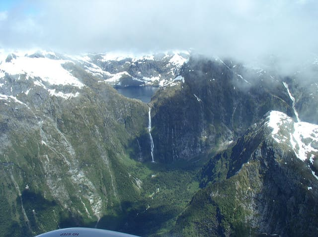 Sutherland Falls - largest waterfalls