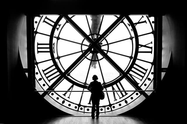 The clock at Musée d'Orsay - relaxing things to do in paris
