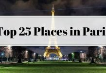 Top 25 Places in Paris