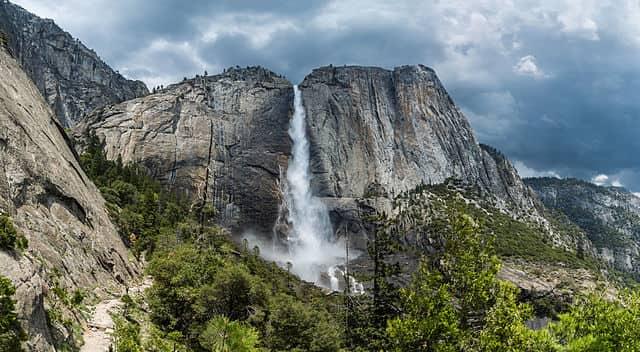 Yosemite Falls - most famous waterfall