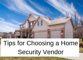 Home security vendor