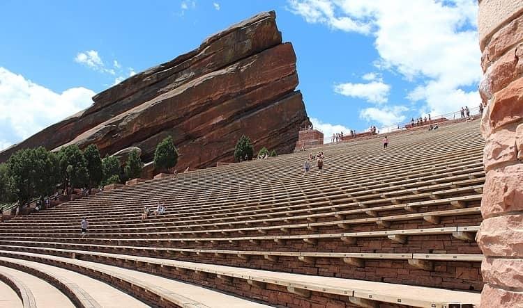 Red Rocks in Colorado