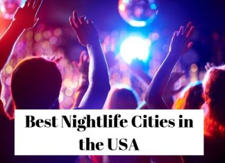Nightlife Cities in USA
