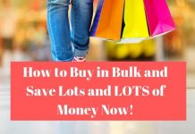 Shopping save money