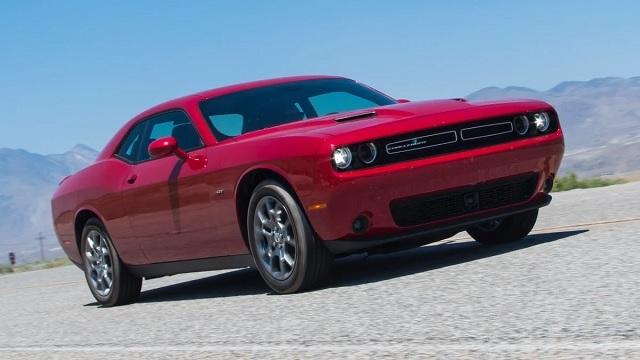 Dodge Challenger sports car