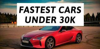 Fastest Cars under $30K