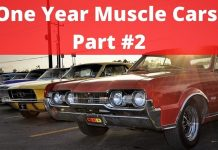 One Year Muscle Cars, Part #2