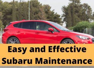 Subaru Maintenance