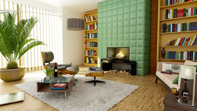 diagonal wall paint design