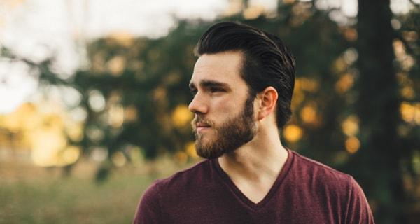 Long Hair Brushed Back - best men hairstyle