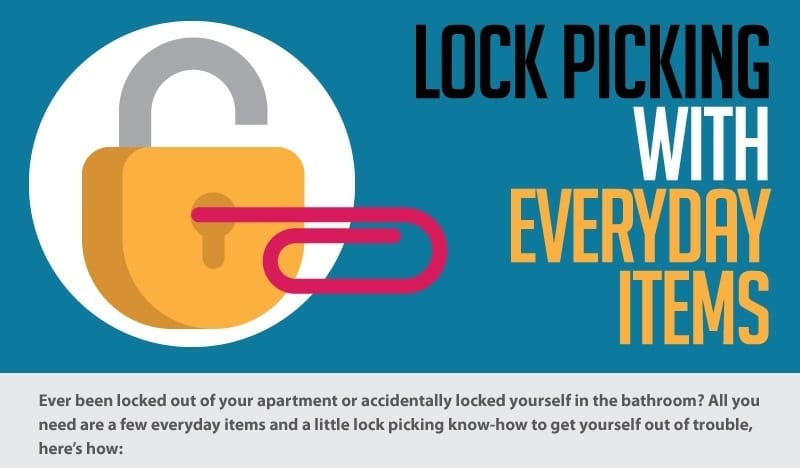 Lock Picking with Household items