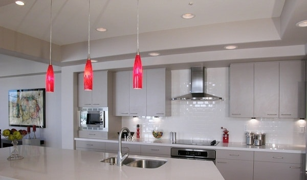 White Cloro Kitchen Interior Design