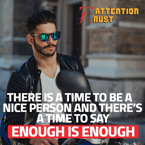 There is a Time to Be a Nice Person
